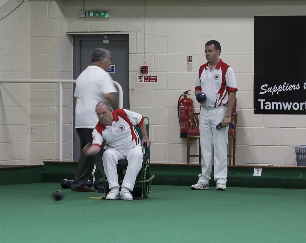 ealaba welcome - Wheelchair bowler