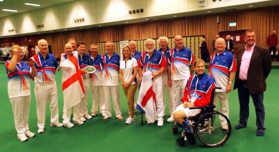 Disabilty Bowls England International Squad 2015