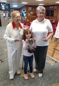 Irene Cheer & Diane Rogers Pairs Champions