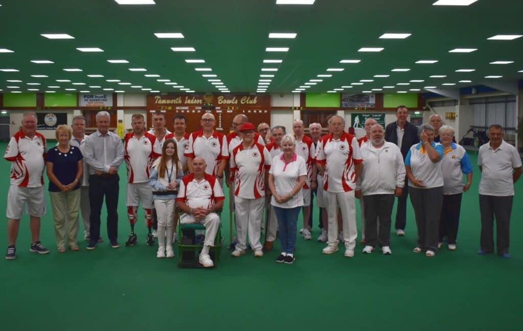 EALABA National Singles competitors & helpers 2021