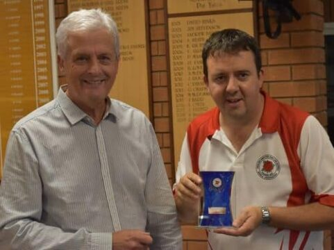 EALABA National Singles 3rd Chris Gray with Andy Thomson